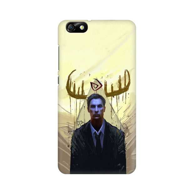 Huawei Honor 4X True Detective Rustin Fan Art Phone Cover & Case