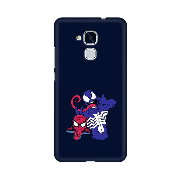 Huawei Honor 5c Spider Man & Venom Funny Phone Cover & Case