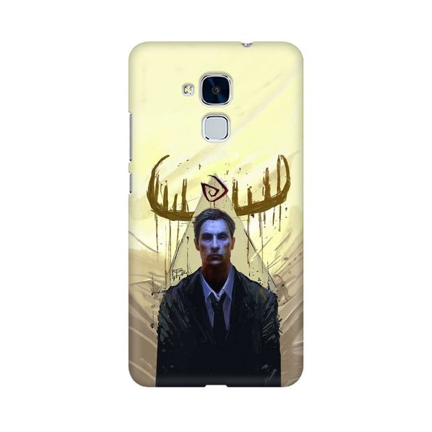 Huawei Honor 5c True Detective Rustin Fan Art Phone Cover & Case