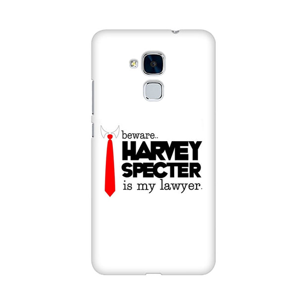 Huawei Honor 5c Harvey Spectre Is My Lawyer Suits Phone Cover & Case