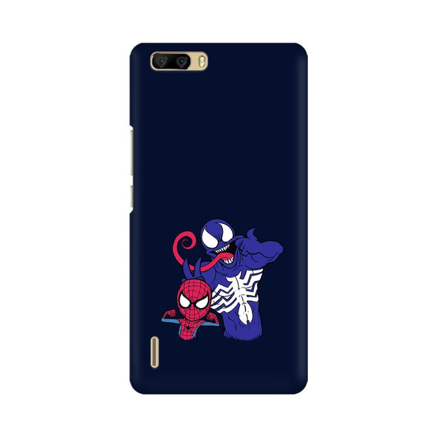 Huawei Honor 6 Plus Spider Man & Venom Funny Phone Cover & Case