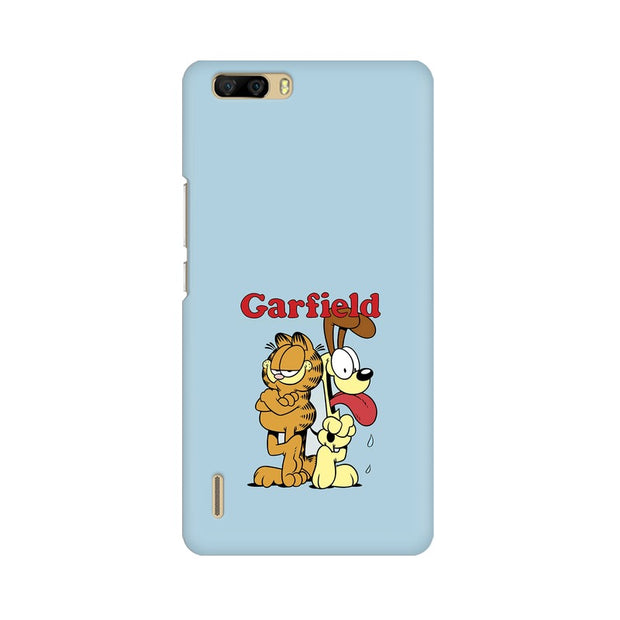 Huawei Honor 6 Plus Garfield & Odie Phone Cover & Case