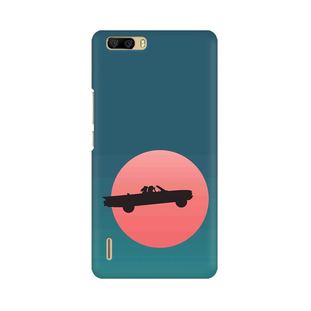 Huawei Honor 6 Plus Thelma & Louise Movie Minimal Phone Cover & Case