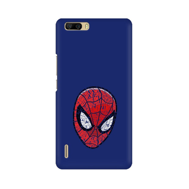 Huawei Honor 6 Plus Spider Man Graphic Fan Art Phone Cover & Case