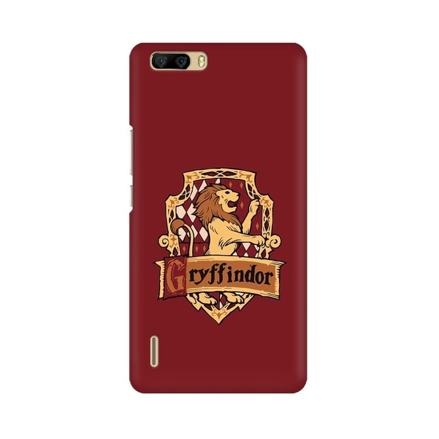 Huawei Honor 6 Plus Gryffindor House Crest Harry Potter Phone Cover & Case