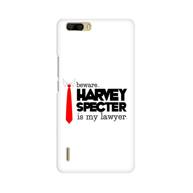 Huawei Honor 6 Plus Harvey Spectre Is My Lawyer Suits Phone Cover & Case