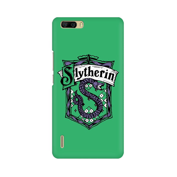 Huawei Honor 6 Plus Slytherin House Crest Harry Potter Phone Cover & Case