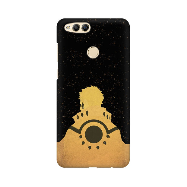 Huawei Honor 7X Naruto Outline Minimal Fan Art Phone Cover & Case