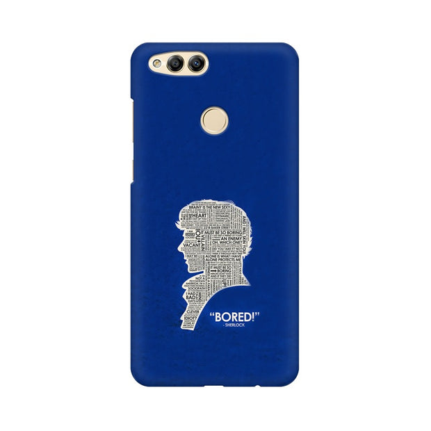 "Huawei Honor 7X When Sherlock Is ""Bored"" Phone Cover & Case"