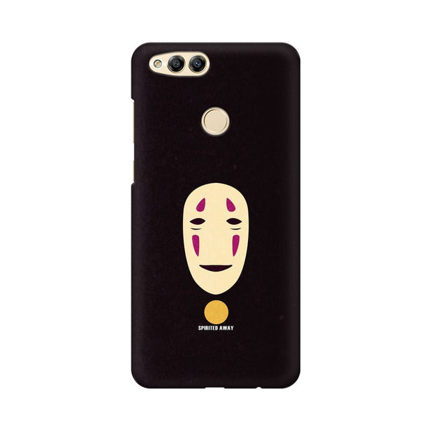 Huawei Honor 7X Spirited Away Minimal Anime Phone Cover & Case