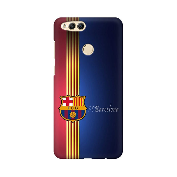 Huawei Honor 7X The Barca Crest Phone Cover & Case