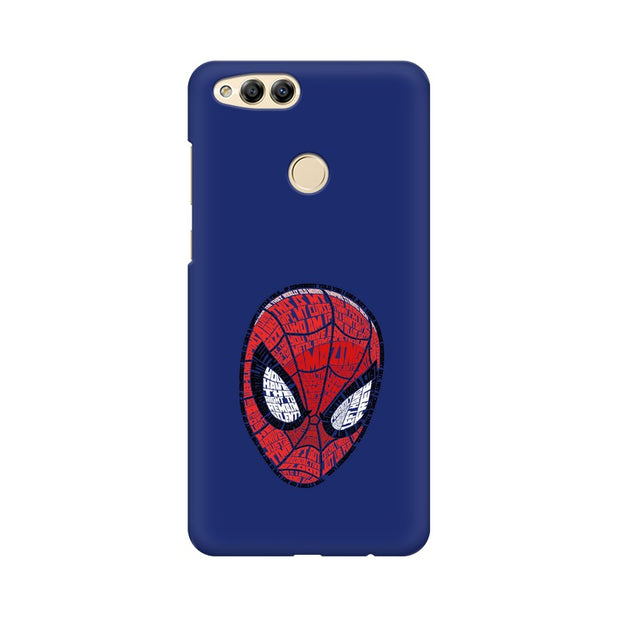 Huawei Honor 7X Spider Man Graphic Fan Art Phone Cover & Case