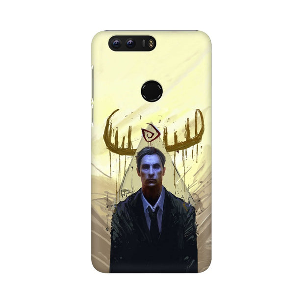 Huawei Honor 8 True Detective Rustin Fan Art Phone Cover & Case