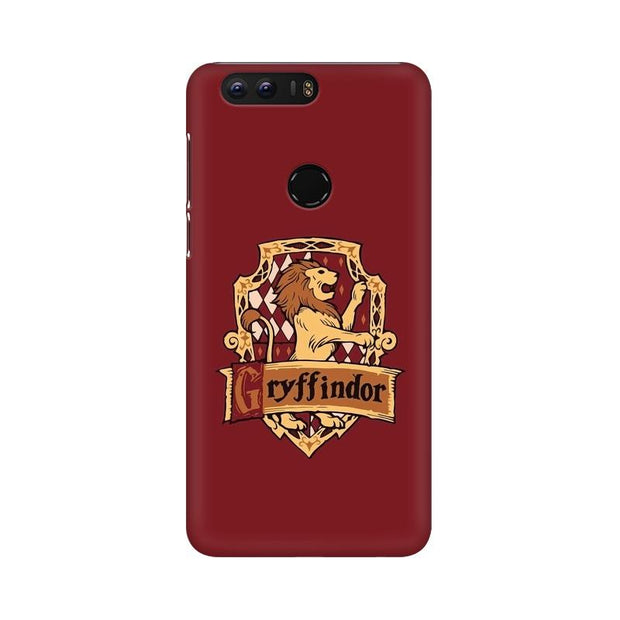 Huawei Honor 8 Gryffindor House Crest Harry Potter Phone Cover & Case