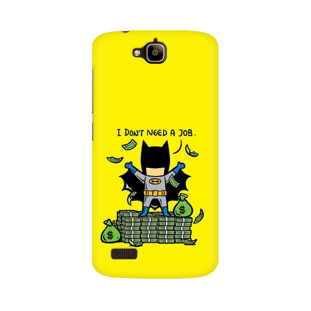 Huawei Honor Holly Batman Needs No Job Phone Cover & Case