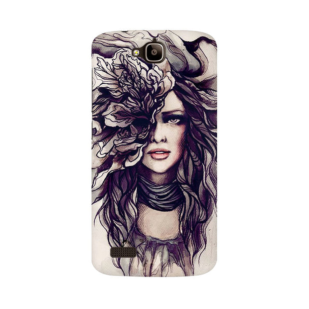 Huawei Honor Holly Crazy Hairy Girl Phone Cover & Case
