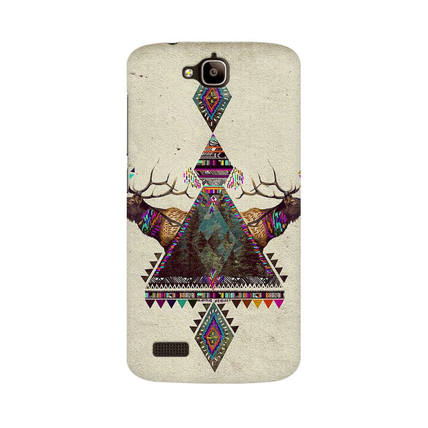 Huawei Honor Holly Deer Symmetry Phone Cover & Case