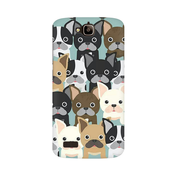 Huawei Honor Holly Dog Family Cluster Phone Cover & Case