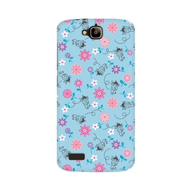 Huawei Honor Holly Floral Girly Wall Phone Cover & Case