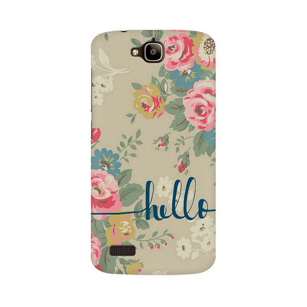 Huawei Honor Holly Flowery Hello Phone Cover & Case