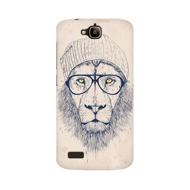 Huawei Honor Holly Lion With Glasses Phone Cover & Case