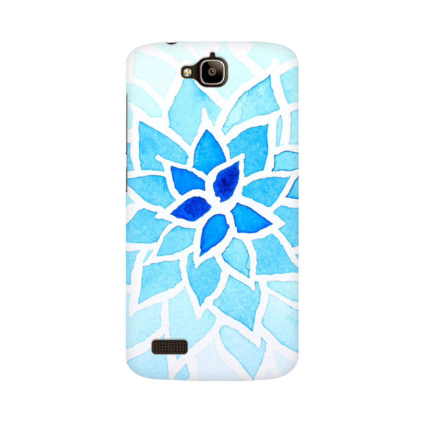 Huawei Honor Holly Lotus Blue Phone Cover & Case