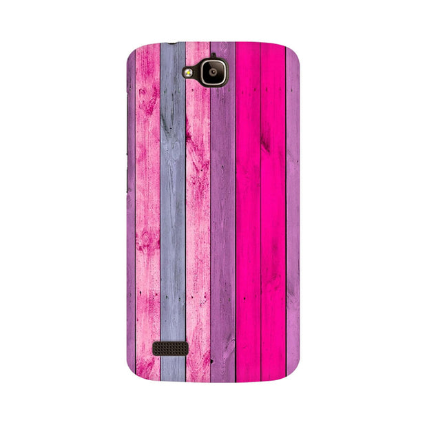 Huawei Honor Holly Pink Wood Shade Phone Cover & Case