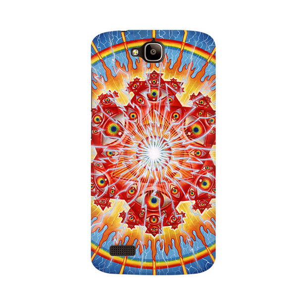 Huawei Honor Holly Psychedelic Eyes Phone Cover & Case