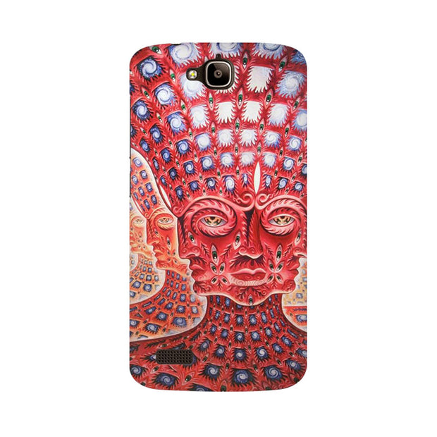 Huawei Honor Holly Psychedelic Faces Phone Cover & Case