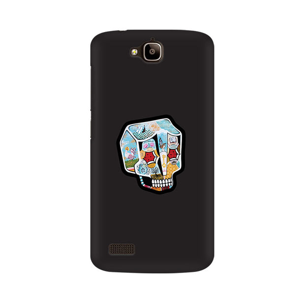 Huawei Honor Holly Skull Cartoon Phone Cover & Case
