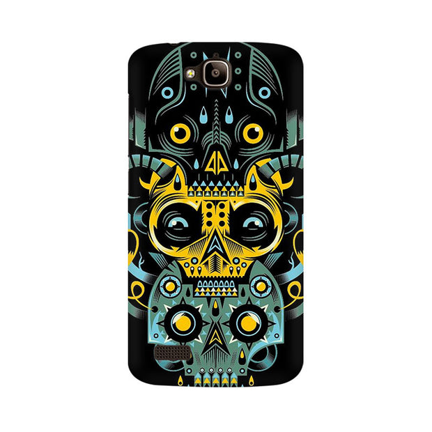 Huawei Honor Holly Three Skulls Phone Cover & Case