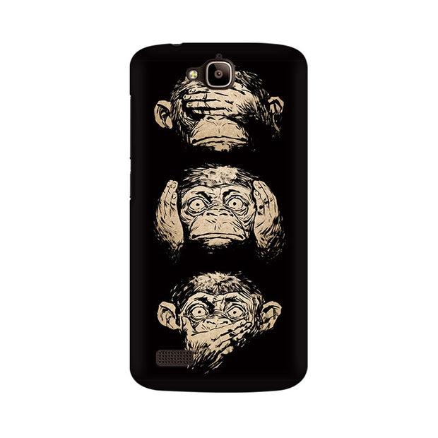 Huawei Honor Holly Three Wise Monkeys Phone Cover & Case