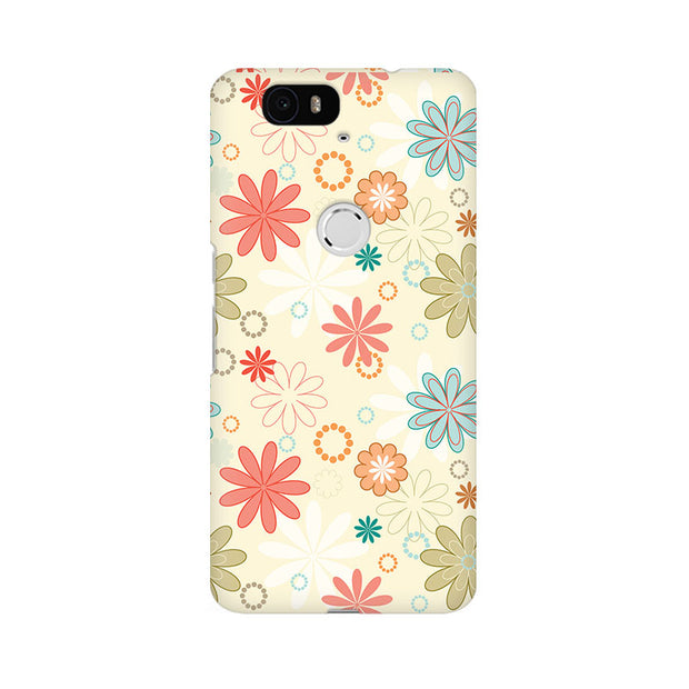 Huawei Nexus 6P Floral Romance Phone Cover & Case