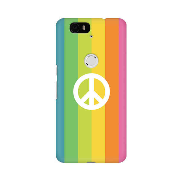 Huawei Nexus 6P Colorful Peace Phone Cover & Case