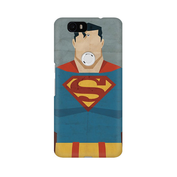 Huawei Nexus 6P Superman Minimalist Phone Cover & Case