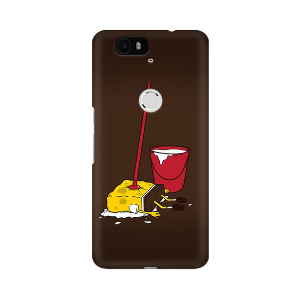Huawei Nexus 6P Minimalist Spongebob Phone Cover & Case