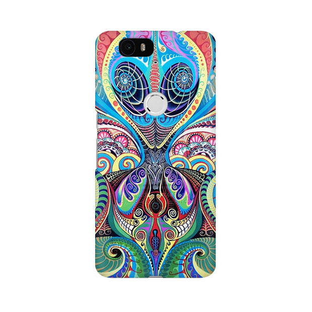 Huawei Nexus 6P Psychedelic Alien Phone Cover & Case