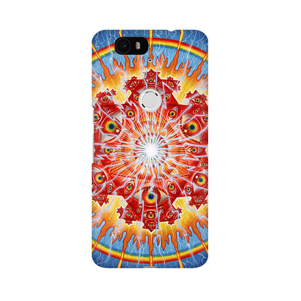 Huawei Nexus 6P Psychedelic Eyes Phone Cover & Case