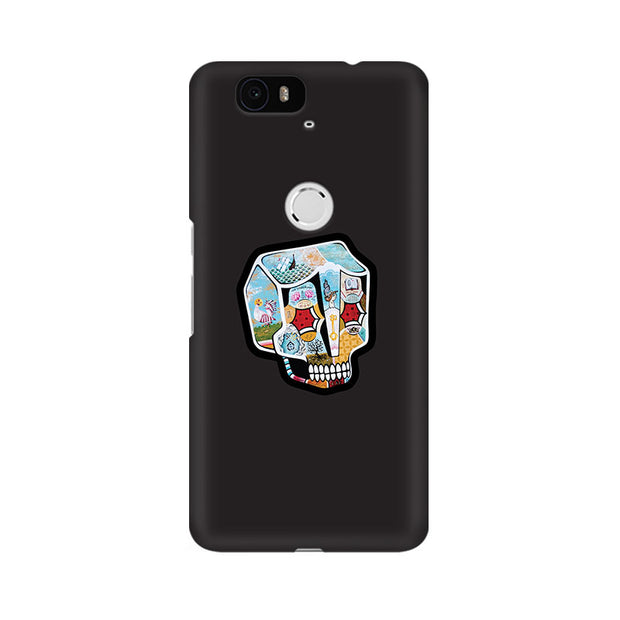 Huawei Nexus 6P Skull Cartoon Phone Cover & Case