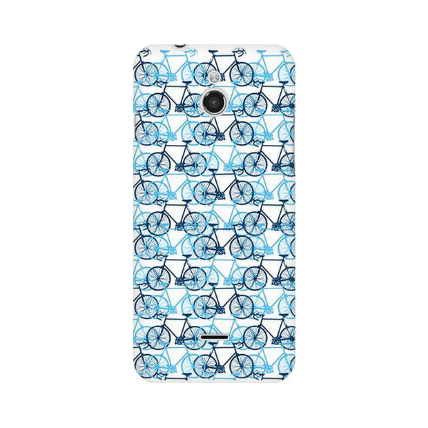 InFocus M2 Blue Cycles Phone Cover & Case