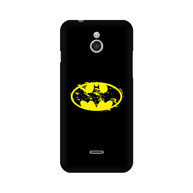 InFocus M2 Flourished Yellow Batman Phone Cover & Case