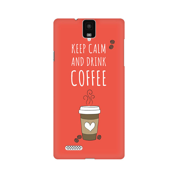 InFocus M330 Keep Calm And Have Coffee Phone Cover & Case
