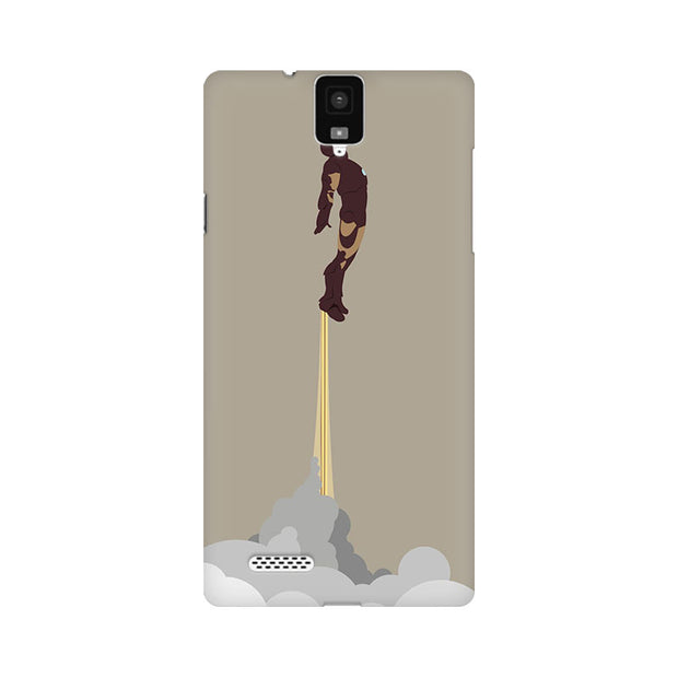 InFocus M330 Flying Iron Man Phone Cover & Case