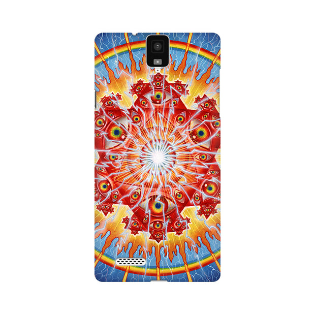 InFocus M330 Psychedelic Eyes Phone Cover & Case