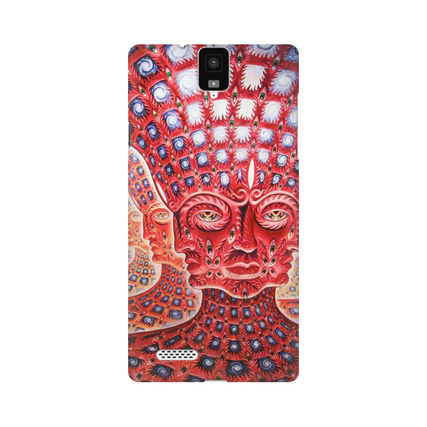 InFocus M330 Psychedelic Faces Phone Cover & Case
