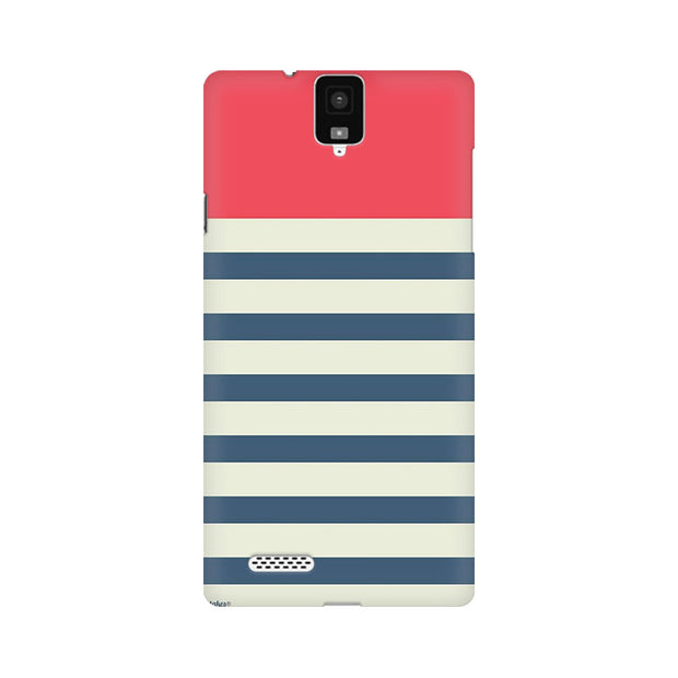 InFocus M330 Stripes Pink Phone Cover & Case
