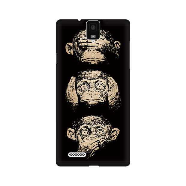 InFocus M330 Three Wise Monkeys Phone Cover & Case