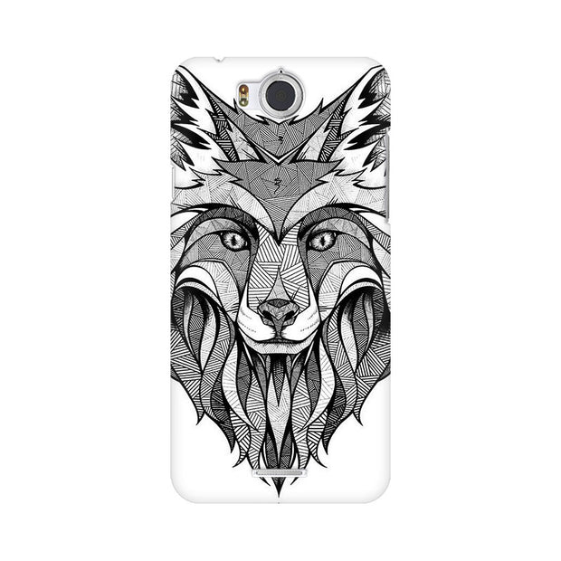 InFocus M530 Line Art Wolf Phone Cover & Case