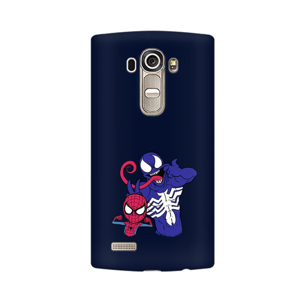 LG G4 Spider Man & Venom Funny Phone Cover & Case