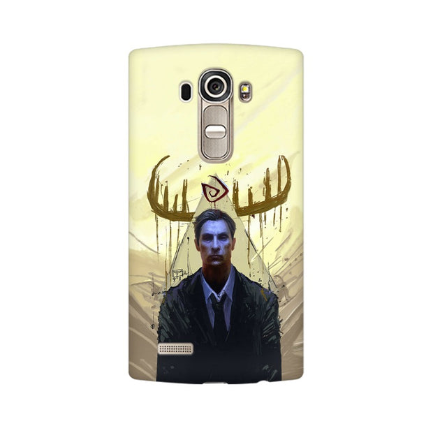 LG G4 True Detective Rustin Fan Art Phone Cover & Case